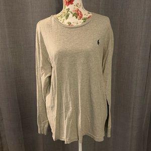 MEN Ralph Lauren Long Sleeve Shirt - Gray